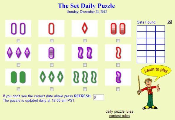 set game 231212