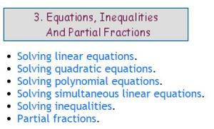 Helm Project Equations