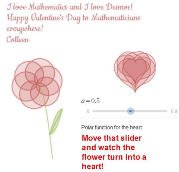 Desmos Valentine