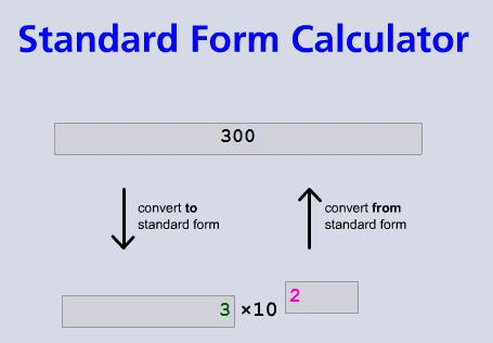 Standard Form Mathematics For Students