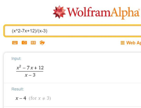 wolframalpha-polynomials