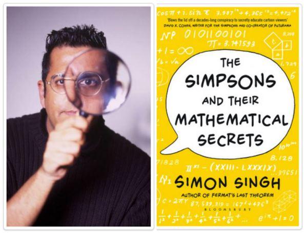 Simposon & Their Mathematical Secrets - Simon Singh