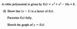 C1 exam question
