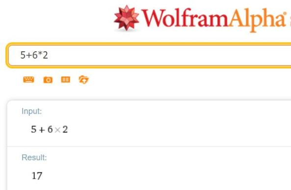 Check answers on WolframAlpha