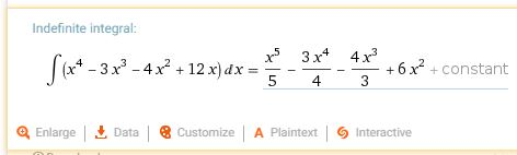 Indefinite Integral