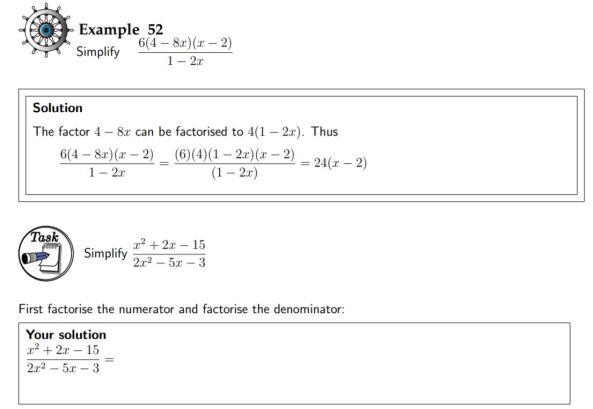 HELM Notes - Basic Algebra